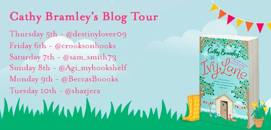 Cathy Bramley - Blog Tour Poster