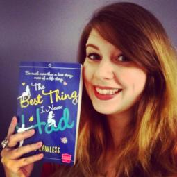 Erin and Best Thing paperback smile