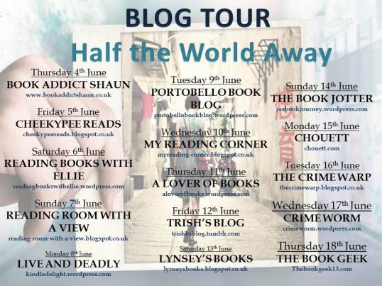 Half the World Away Blog Tour Banner